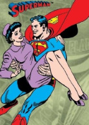 Superman Magnet Flying with Lois Lane