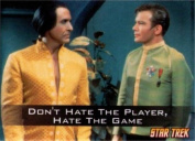 Star Trek Don't Hate The Player Hate The Game Magnet 29454ST