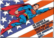 Superman The American Way Refrigerator Magnet