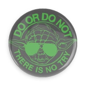 Funny Magnets; Popular Movies Star Wars Yoda Do Or Do Not There Is No Try 3.8cm Refrigerator Magnet