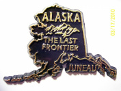 Alaska The Last Frontier United States Fridge Magnet