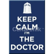 Doctor Who - Keep Calm I'm The Doctor 8.9cm Magnet