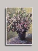 Claude Monet Vase of Flowers Refrigerator Magnet