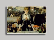 Manet Bar Follies Refrigerator Magnet