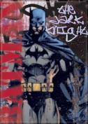 THE DARK KNIGHT RED BATMAN DC Comics Refrigerator Magnet