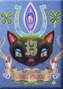Artist Aaron Marshall Jinx Proof Lucky Cat Fridge Magnet