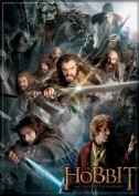 Group of Dwarves the Hobbit : An Expected Journey Refrigerator Magnet