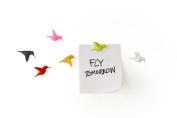 Qualy Hummingbird Message Magnets