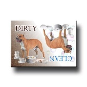 American Staffordshire Terrier Dishwasher Magnet