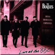 Beatles Live At The BBC steel fridge magnet