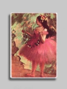 Degas Dancer in a Rose Dress Refrigerator Magnet