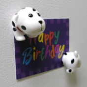 Dog Shape Magnet Clip - Dalmatian
