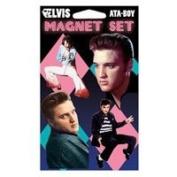 Elvis Presley Jailhouse Rock Four Pack Magnet Set 35022P4