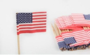 Mini American Flag Toothpicks - Pkg of 500 - Cute for Cupcakes!