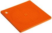 Casabella Be Cool Orange Silicone Trivet