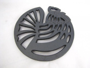 Old Mountain Cast Iron Rooster Trivet