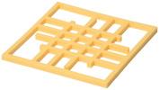 Now Designs Silicone Grid Trivet, Lemon