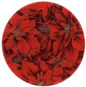 Andreas TRT16 25.4cm Silicone Trivet, Poinsettia