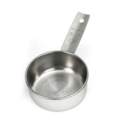 Tablecraft 724C 1/2 Cup Stainless Steel Measuring Cup