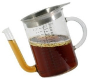 Steel-Function Fat Separator - 4 cup - Glass
