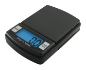 Fast Weigh MS-500-BLK Digital Pocket Scale, 500 by 0.1 G