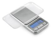 Polder Digital Pocket Scale, Silver
