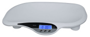 American Weigh Scales MDI-20 Baby Scale with Sturdy Polymer Construction and 19.96kg Capacity, White