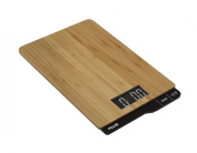 American Weigh Scales ECO-5K Eco Weigh Series Bamboo Digital Kitchen Scale