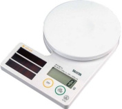 Tanita digital scale solar cooking white SD-002-WH (table 1) [kitchen scale]