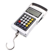 50kg 20g LCD Weight Hanging clock Scale Luggage Fishing