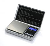 American Weigh Scales AWS-201-SIL Digital Personal Nutrition Scale, Pocket Size, Silver