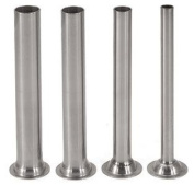 (4) stainless steel tubes for Manual Sausage Stuffer