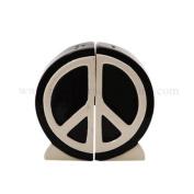 Peace Sign Salt and Pepper Shaker Set