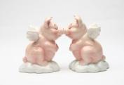 When Pigs Fly Hog Heaven Magnetic Salt & Pepper Shaker Set S/P