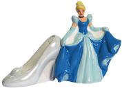 Westland Giftware Cinderella and Glass Slipper Magnetic Ceramic Salt and Pepper Shaker Set, 10.2cm