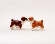 Bulldogs Attractives Salt Pepper Shaker Made of Ceramic