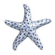 Nautical Ocean Beach Blue Net Starfish Figurine