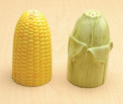 Collectible Vegetable Ceramic Glass Salt and Pepper Shaker
