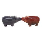 Hippos Attractives Salt Pepper Shaker Made of Ceramic