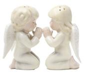 Angels Kneeling Magnetic Salt & Pepper Shakers