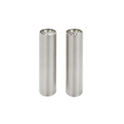 Torre & Tagus Axis Stainless Tower Salt and Pepper Shaker Set