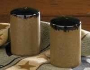 Molasses Salt and Pepper Shakers