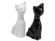 Cat Salt & Pepper Shakers from Present Time