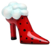 Appletree Design Ruby Red Shoe Salt and Pepper Set, 5.7cm Tall