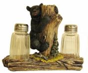 IWGAC 021-12411 Bear On Tree Salt & Pepper Shakers