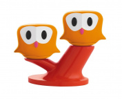 Pic & Nic Owls Salt and Pepper Shakers Set, Orange