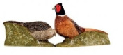 Quail Ceramics Fine China Pheasant Design Salt & Pepper Pots