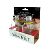Squared Salt And Pepper Shaker Set