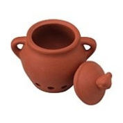Fox Run Garlic Keeper, Terra Cotta
