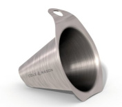 Cole and Mason H699930 Stainless-Steel Funnel